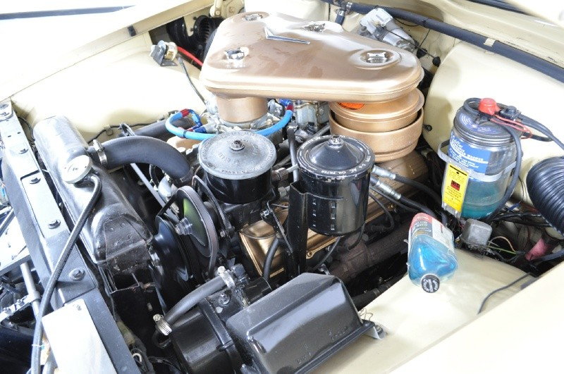 1955 CADILLAC ELDORADO CONVERTIBLE - Engine - 138267