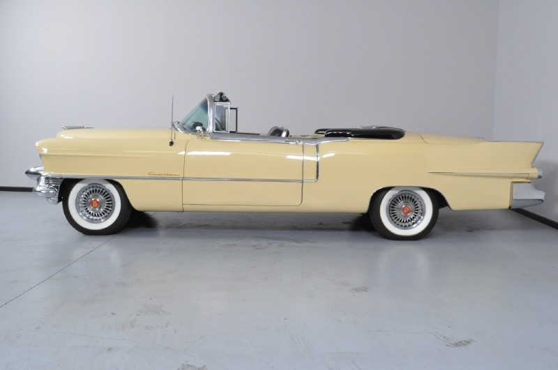 1955 CADILLAC ELDORADO CONVERTIBLE - Side Profile - 138267