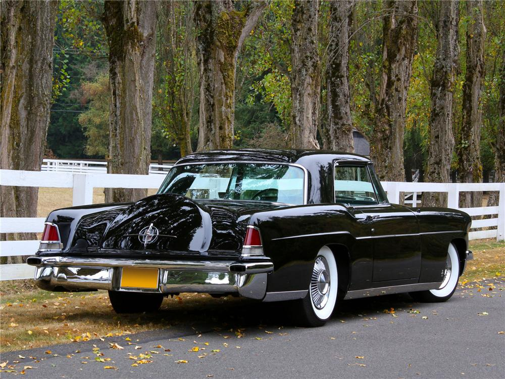1956 LINCOLN CONTINENTAL MARK II 2 DOOR COUPE - Rear 3/4 - 138274