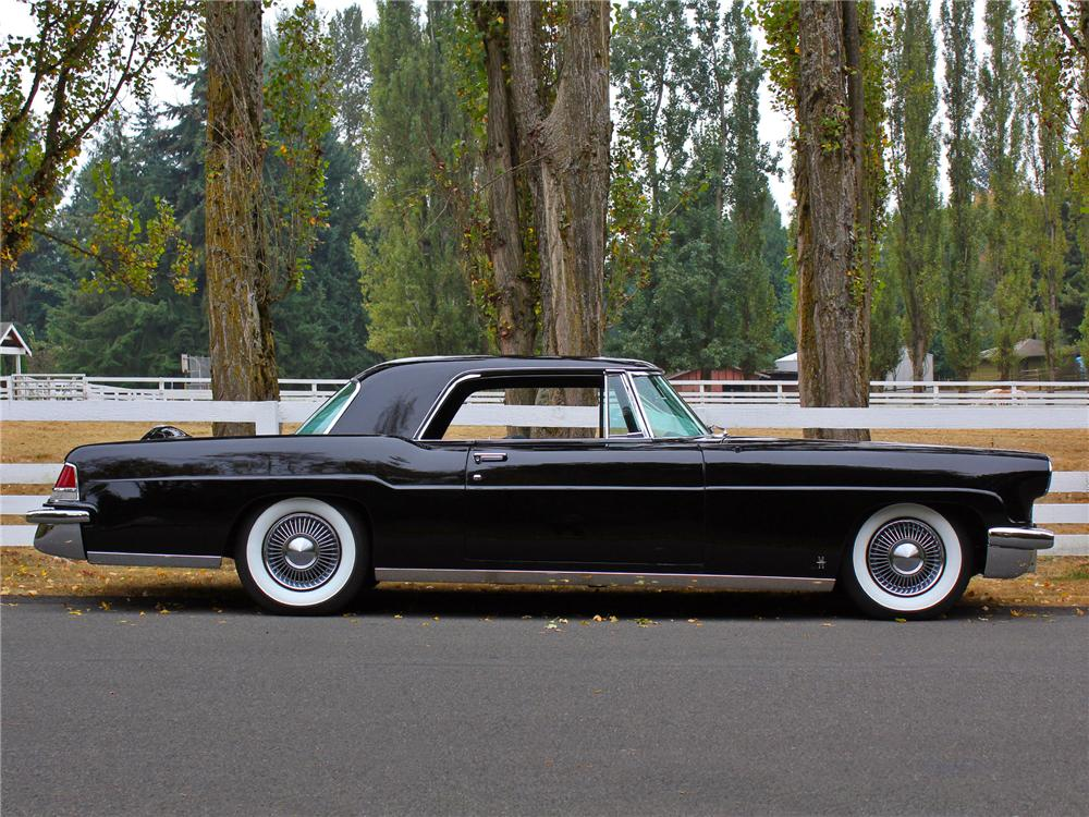 1956 LINCOLN CONTINENTAL MARK II 2 DOOR COUPE - Side Profile - 138274