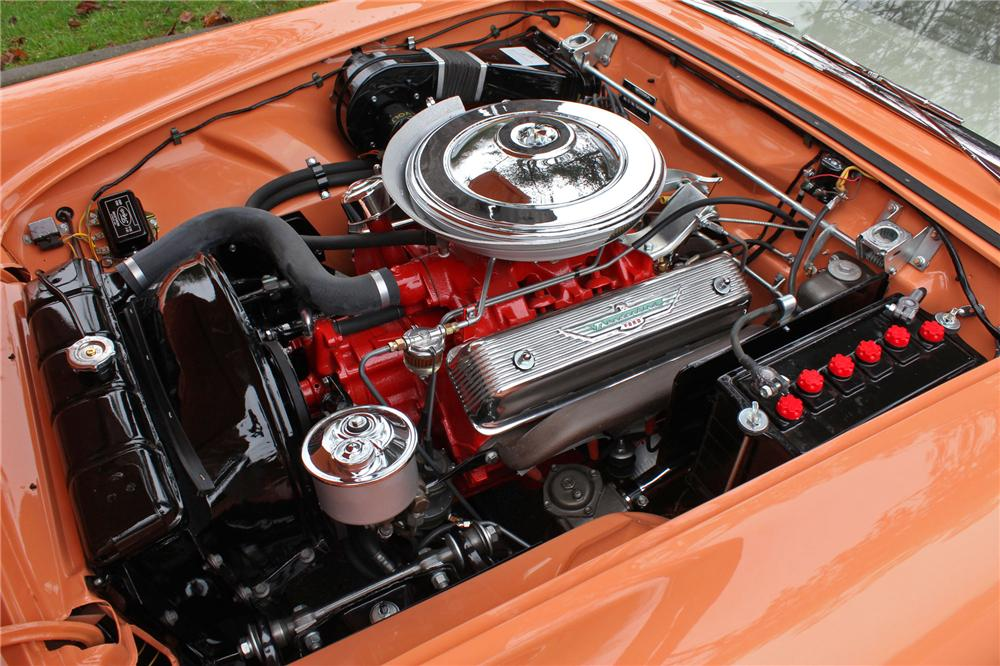 1957 FORD THUNDERBIRD CONVERTIBLE - Engine - 138276