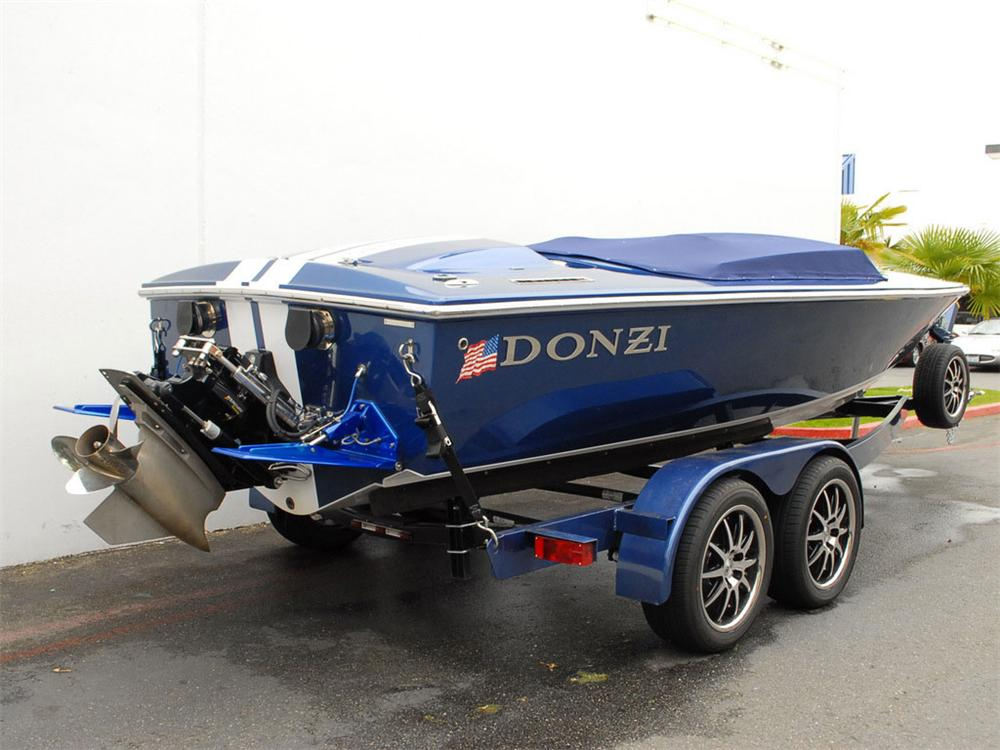 2007 DONZI 22 CLASSIC SHELBY GT BOAT - Rear 3/4 - 138277