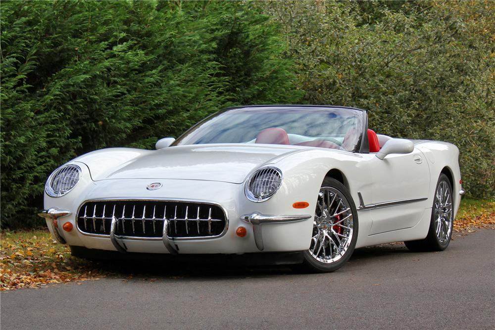 2000 CHEVROLET CORVETTE CUSTOM CONVERTIBLE - Front 3/4 - 138280