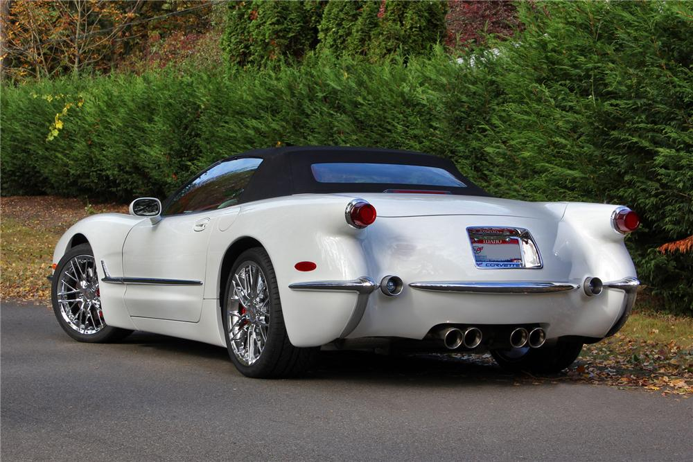 2000 CHEVROLET CORVETTE CUSTOM CONVERTIBLE - Rear 3/4 - 138280
