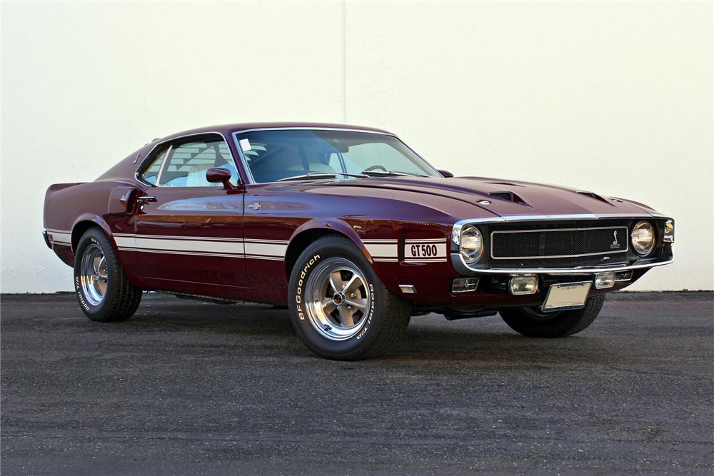 1969 SHELBY GT500 FASTBACK - Front 3/4 - 138282