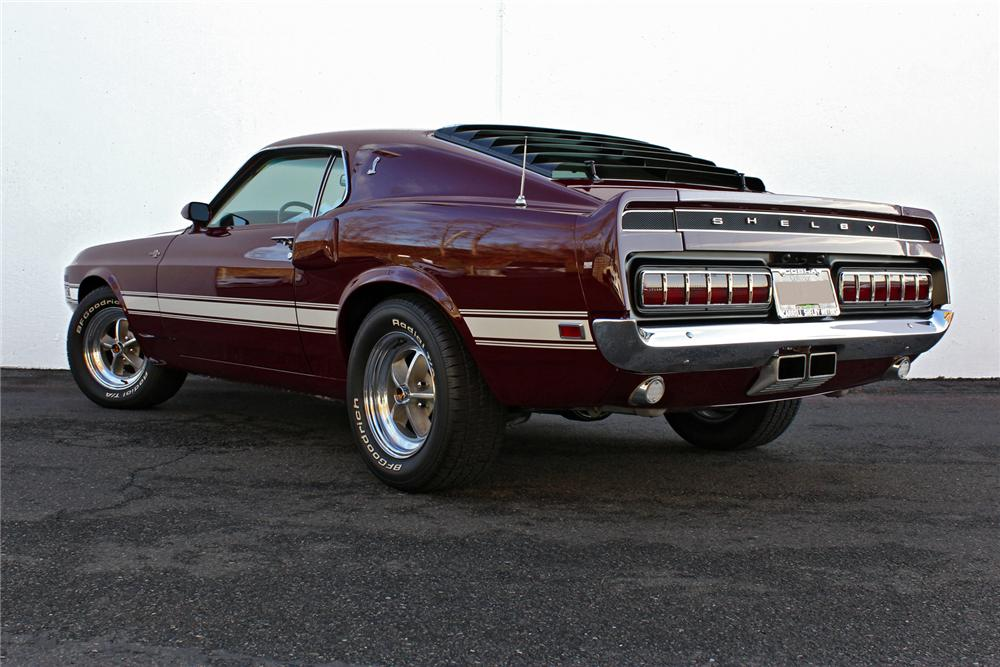 1969 SHELBY GT500 FASTBACK - Rear 3/4 - 138282