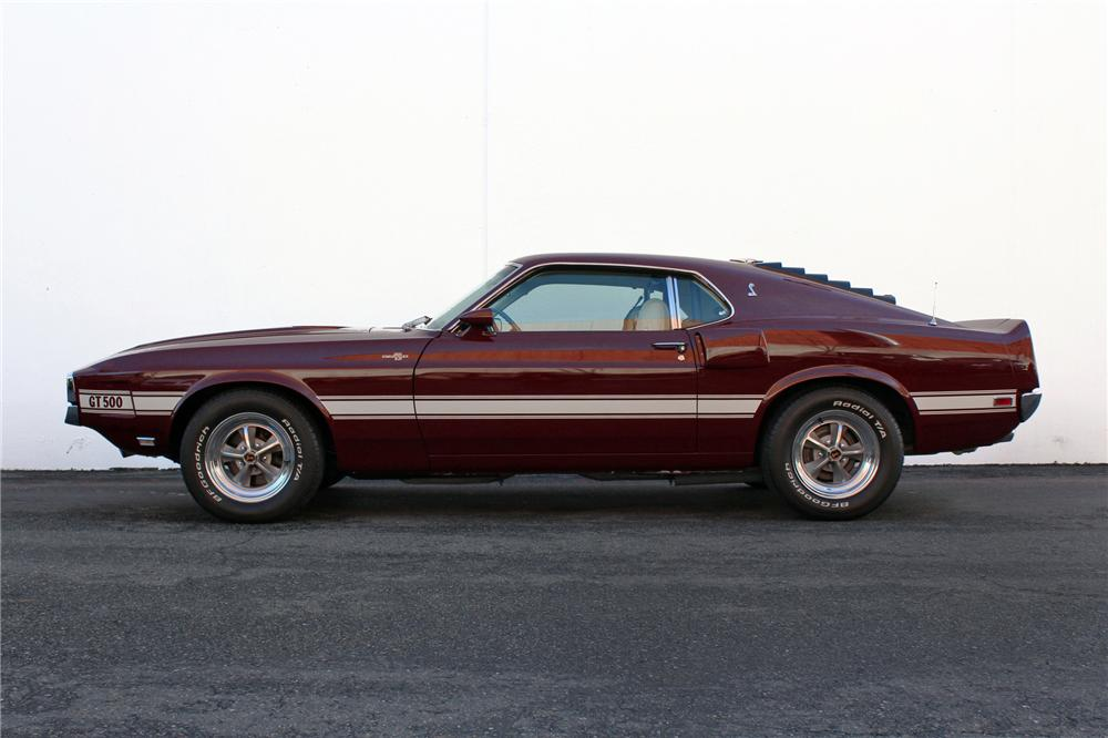 1969 SHELBY GT500 FASTBACK - Side Profile - 138282