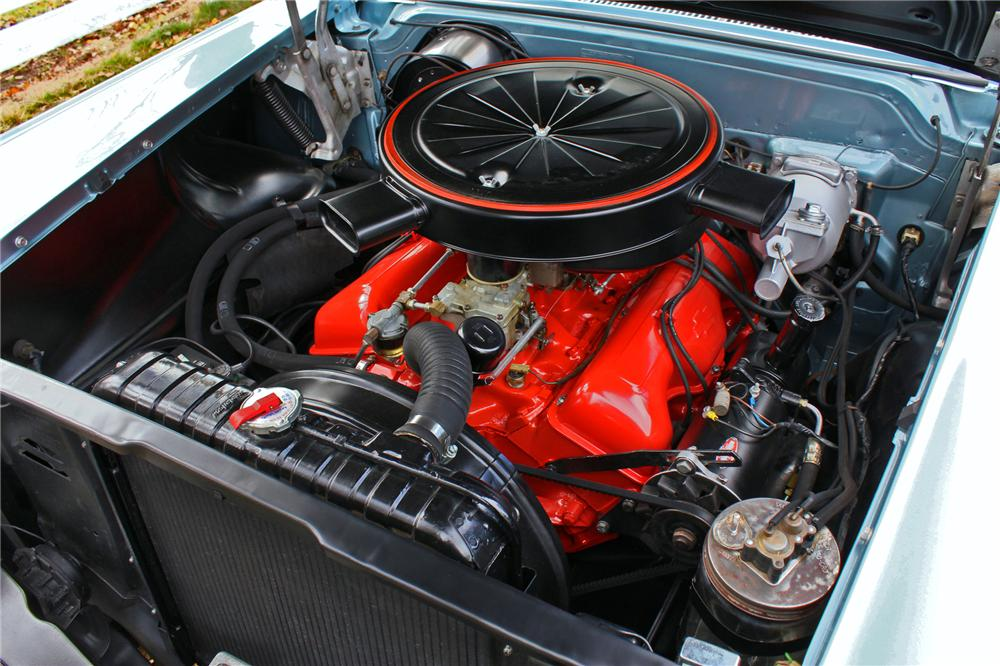 1958 CHEVROLET IMPALA 2 DOOR COUPE - Engine - 138283