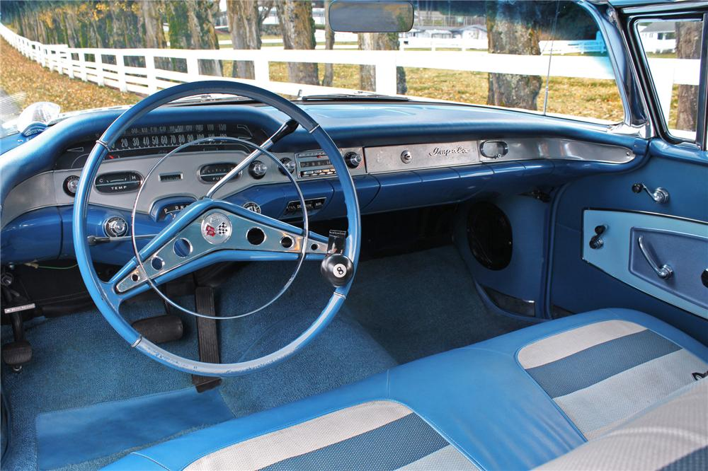 1958 CHEVROLET IMPALA 2 DOOR COUPE - Interior - 138283