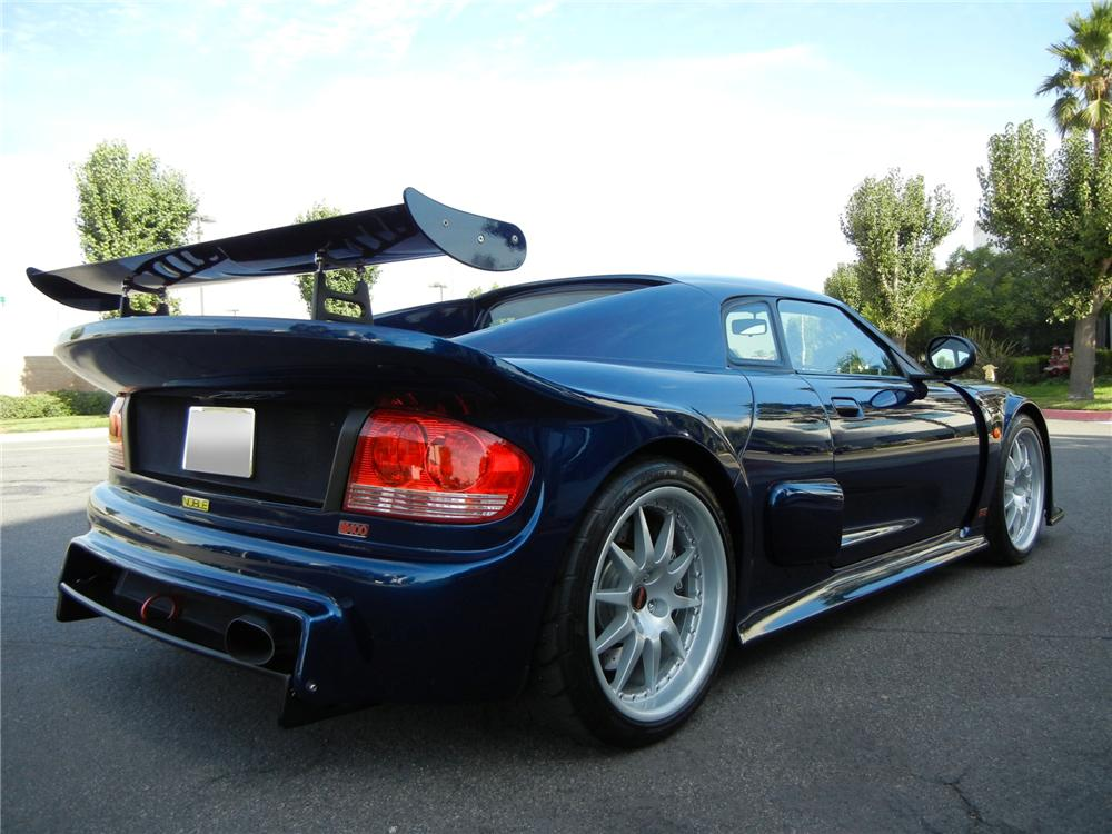 2006 NOBLE M400 2 DOOR COUPE - Rear 3/4 - 138285