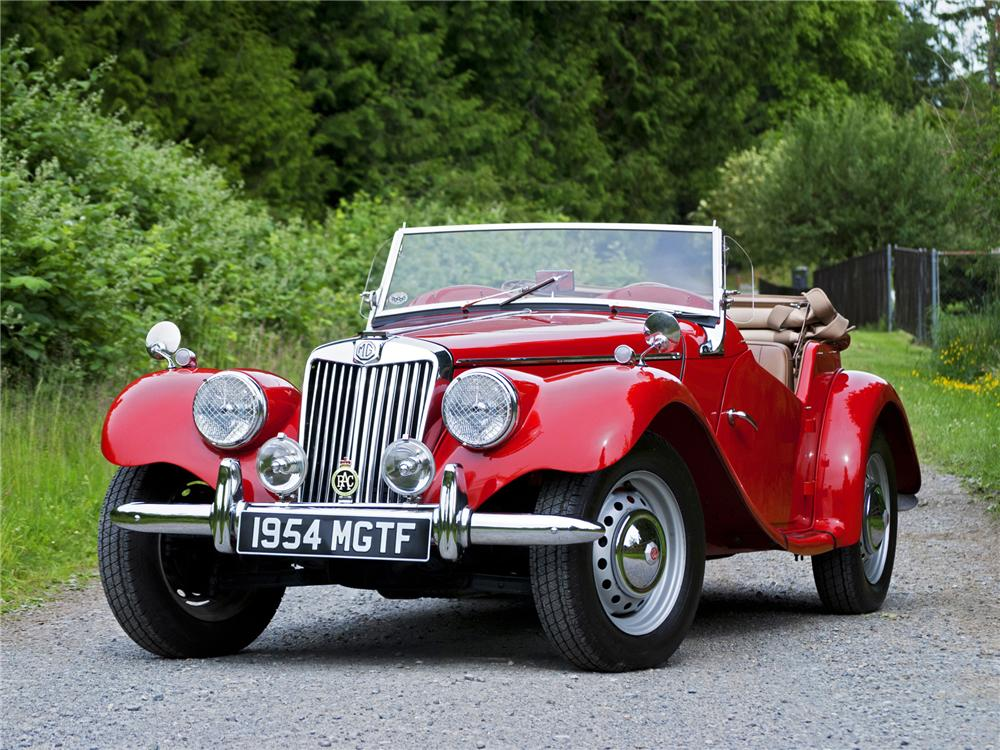 1954 MG TF ROADSTER - Front 3/4 - 138287