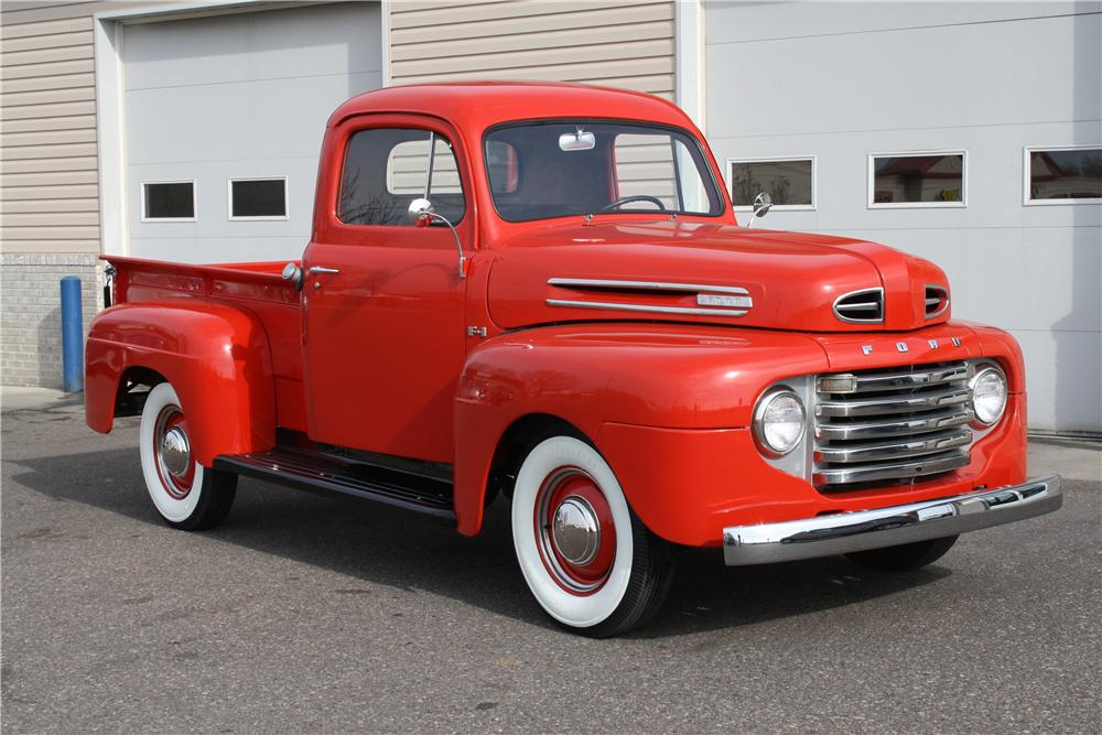 1948 FORD F-1 PICKUP - Front 3/4 - 138288