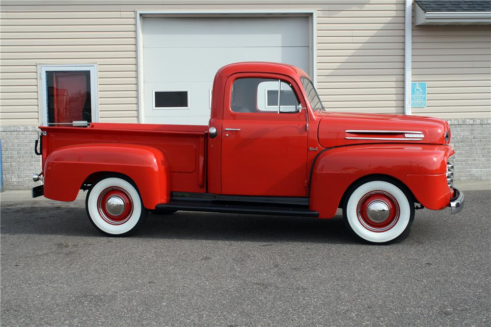 1948 FORD F-1 PICKUP - Side Profile - 138288