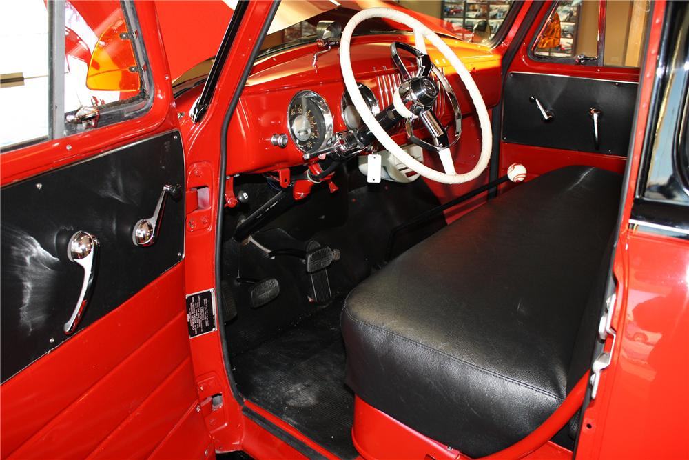 1954 CHEVROLET 3100 PICKUP - Interior - 138290