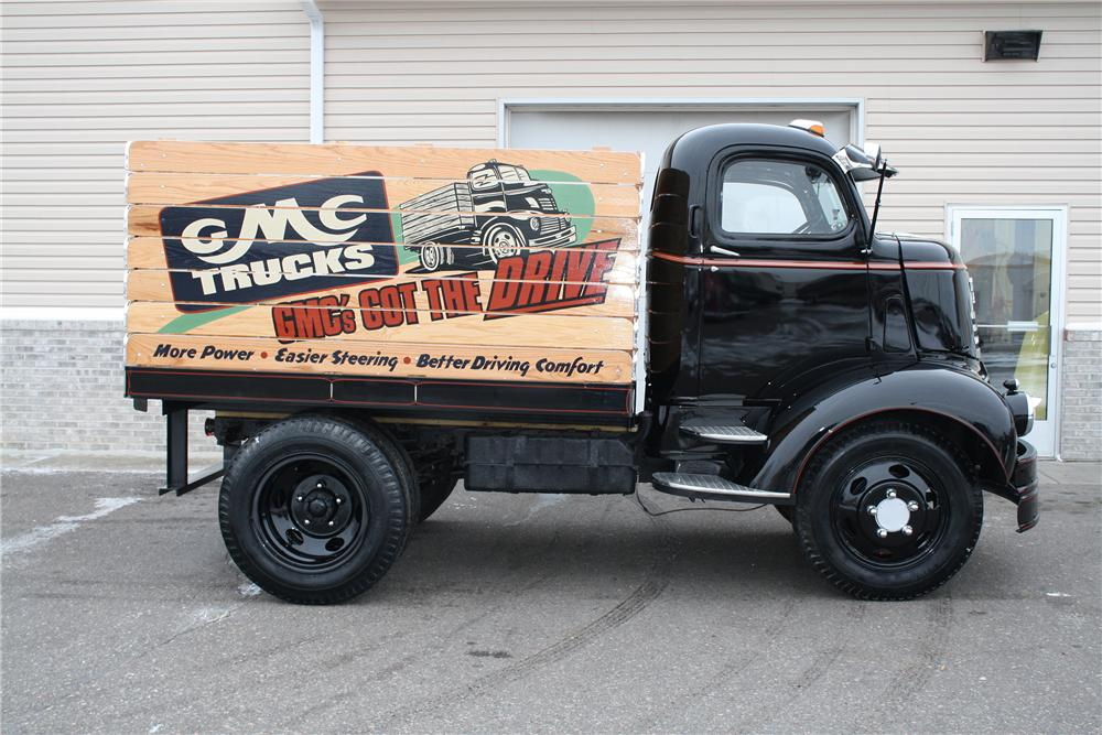 1940 GMC COE TRUCK - Side Profile - 138291