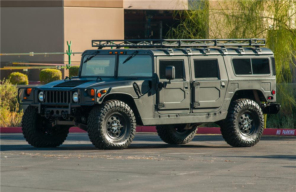 1997 AM GENERAL HUMMER H1 WAGON - Front 3/4 - 138297