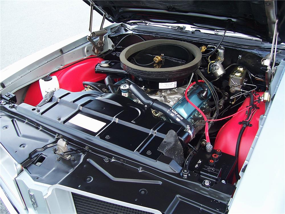 1971 OLDSMOBILE 442 W30 CONVERTIBLE - Engine - 138305