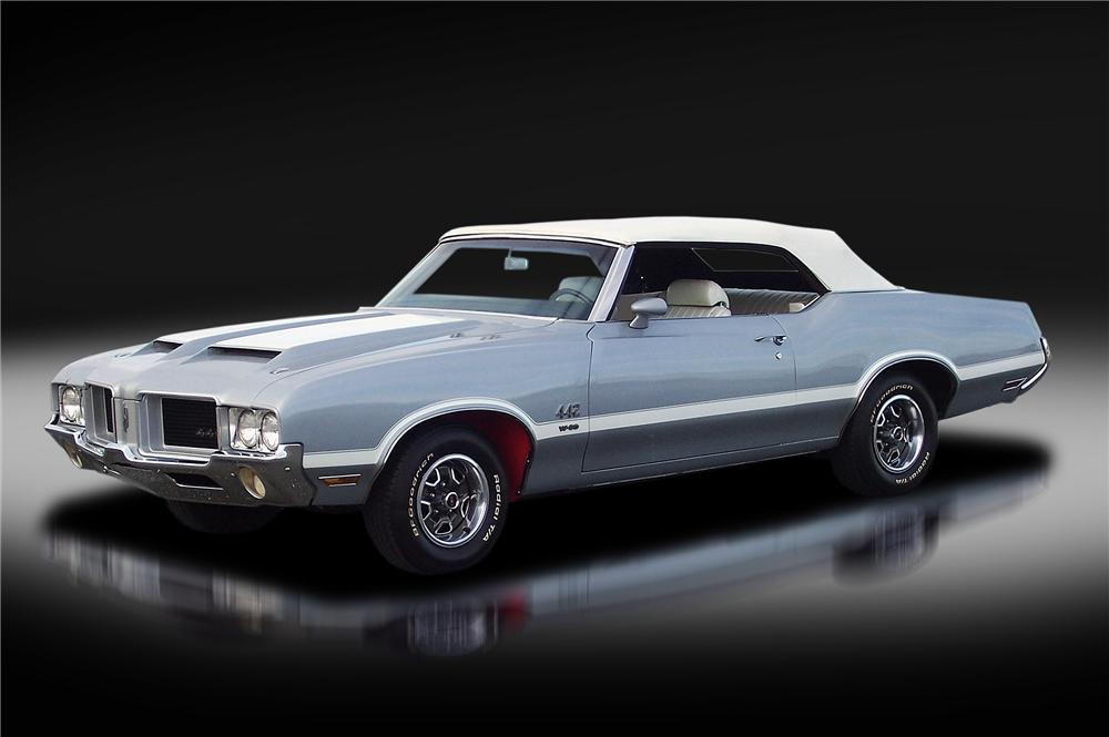 1971 OLDSMOBILE 442 W30 CONVERTIBLE - Front 3/4 - 138305