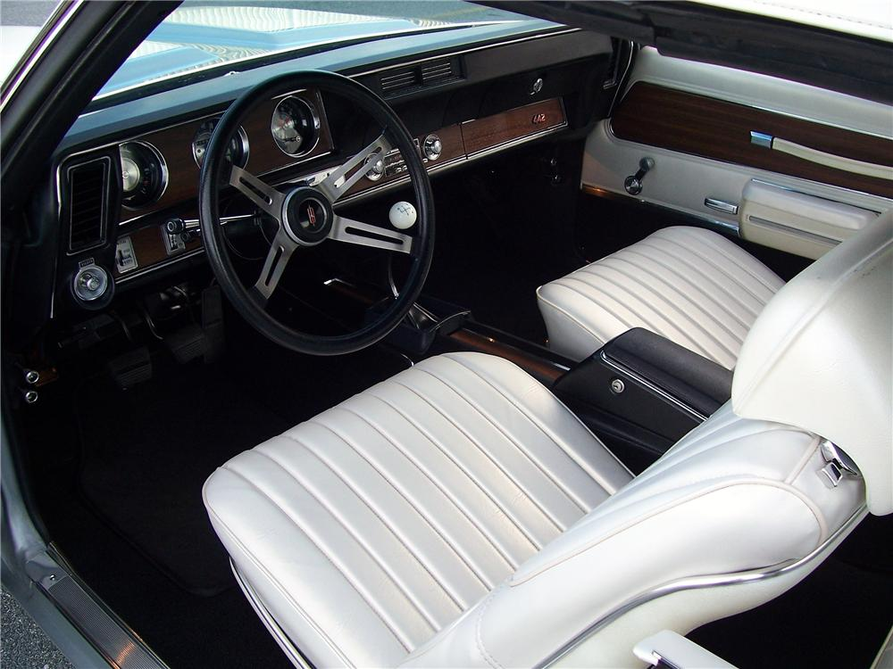 1971 OLDSMOBILE 442 W30 CONVERTIBLE - Interior - 138305