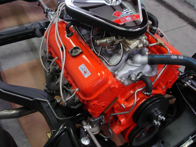 1967 CHEVROLET CORVETTE CONVERTIBLE - Engine - 138310