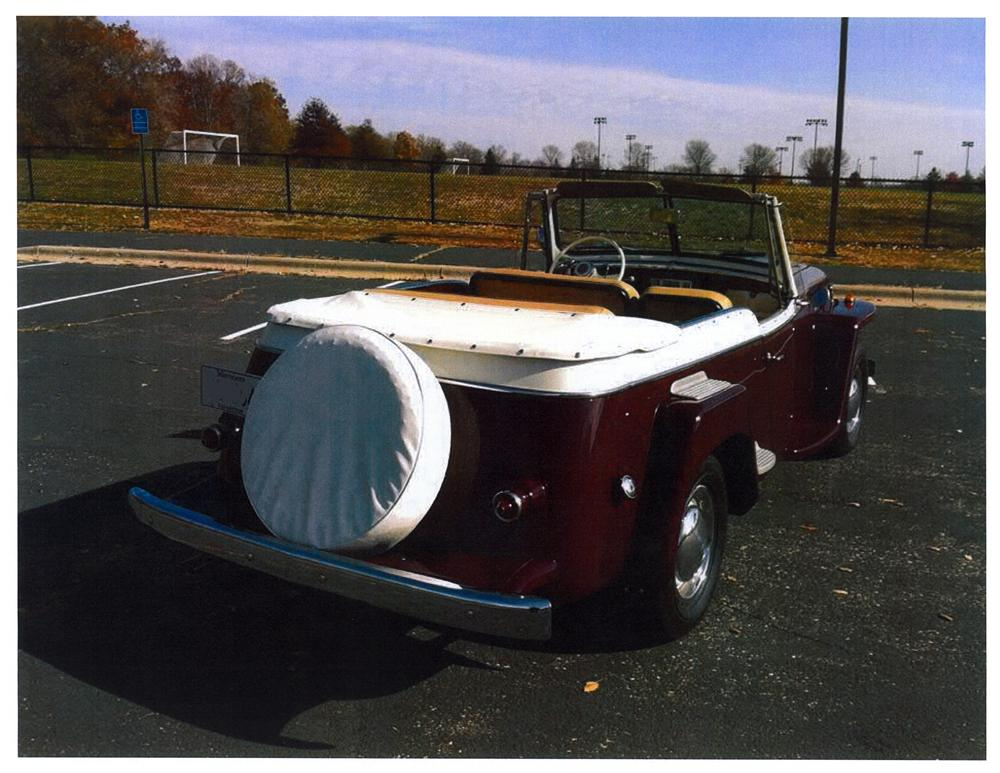1949 WILLYS JEEPSTER CONVERTIBLE - Rear 3/4 - 138319