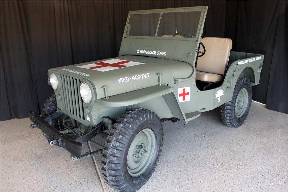 1946 WILLYS JEEP - 138321