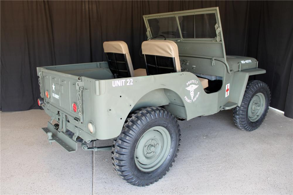 1946 WILLYS JEEP  - Rear 3/4 - 138321