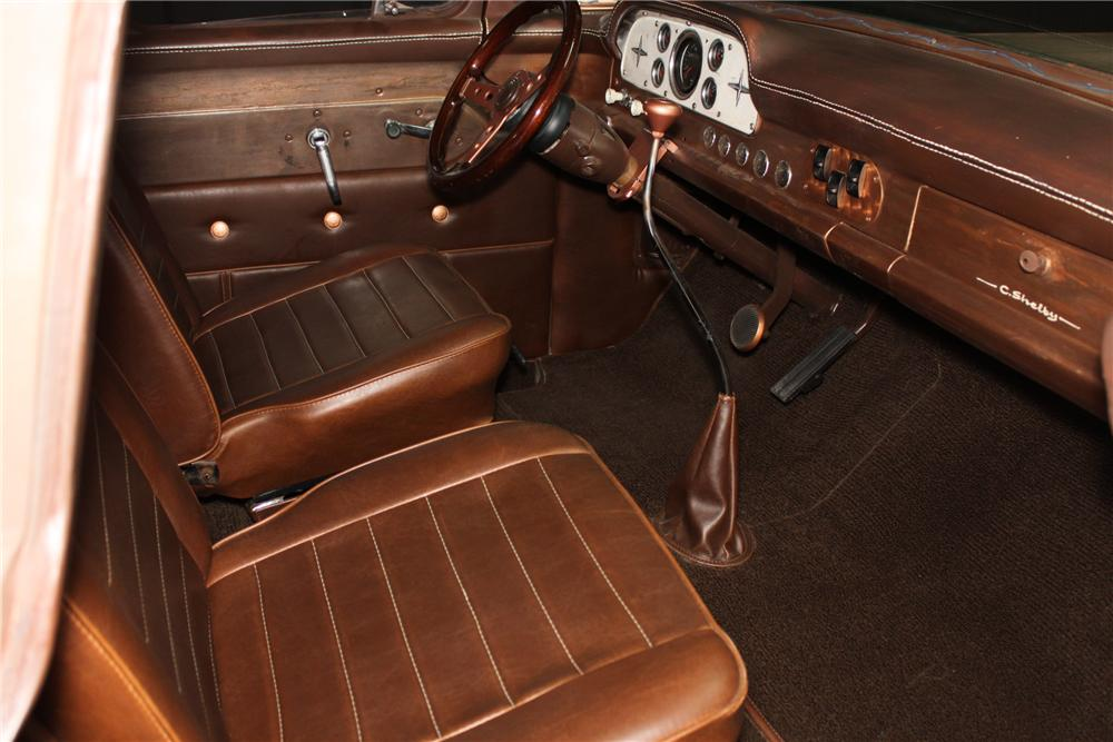 1959 FORD F-100 CUSTOM PICKUP - Interior - 138326