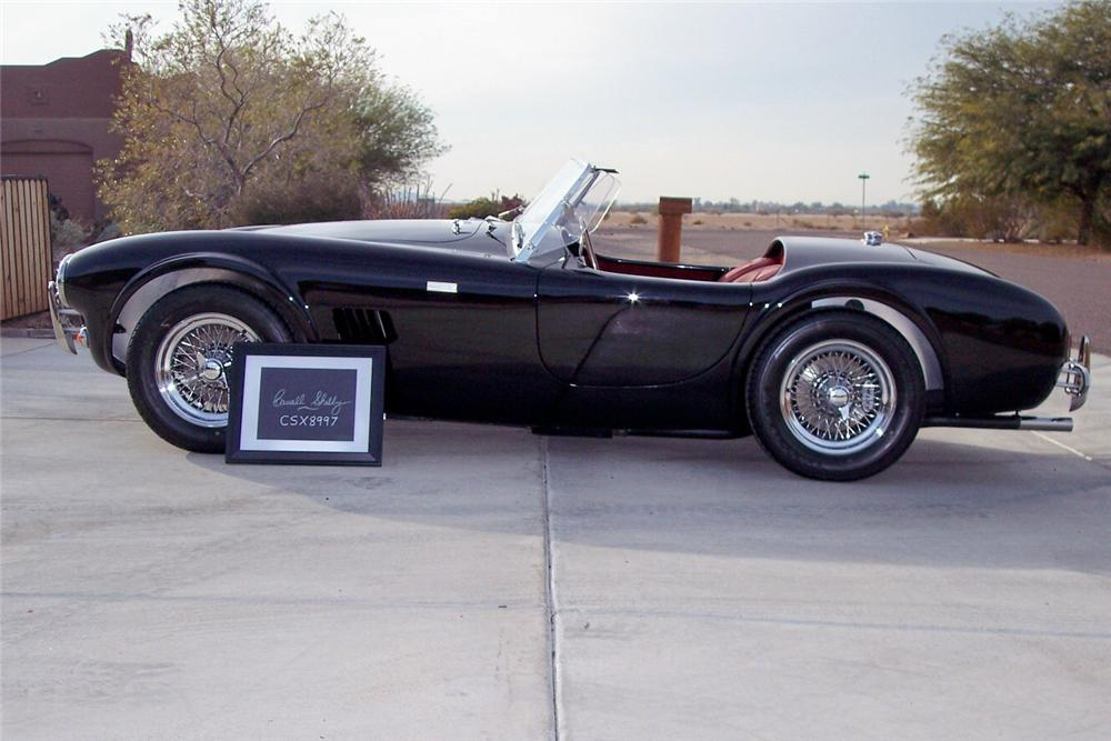 1962 SHELBY COBRA CSX 8000 ROADSTER - Side Profile - 138329