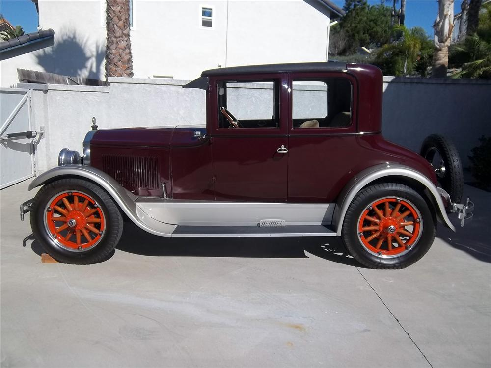 1925 BUICK 25 2 DOOR OPERA COUPE - Side Profile - 138330