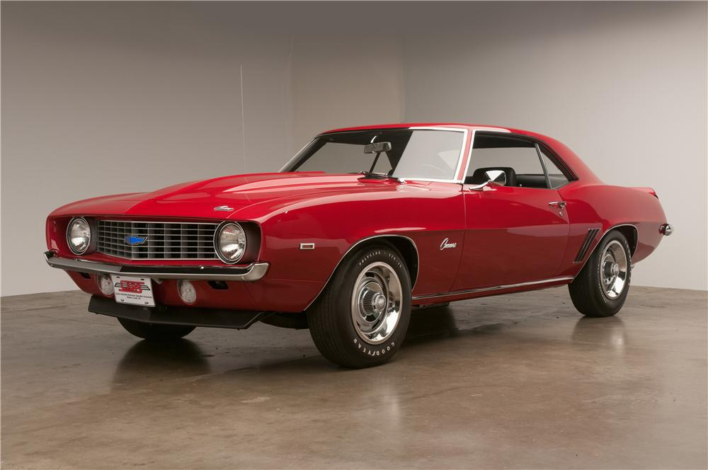 1969 CHEVROLET CAMARO COPO RE-CREATION COUPE - Front 3/4 - 138332