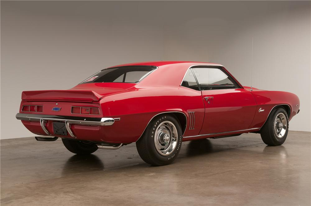 1969 CHEVROLET CAMARO COPO RE-CREATION COUPE - Rear 3/4 - 138332