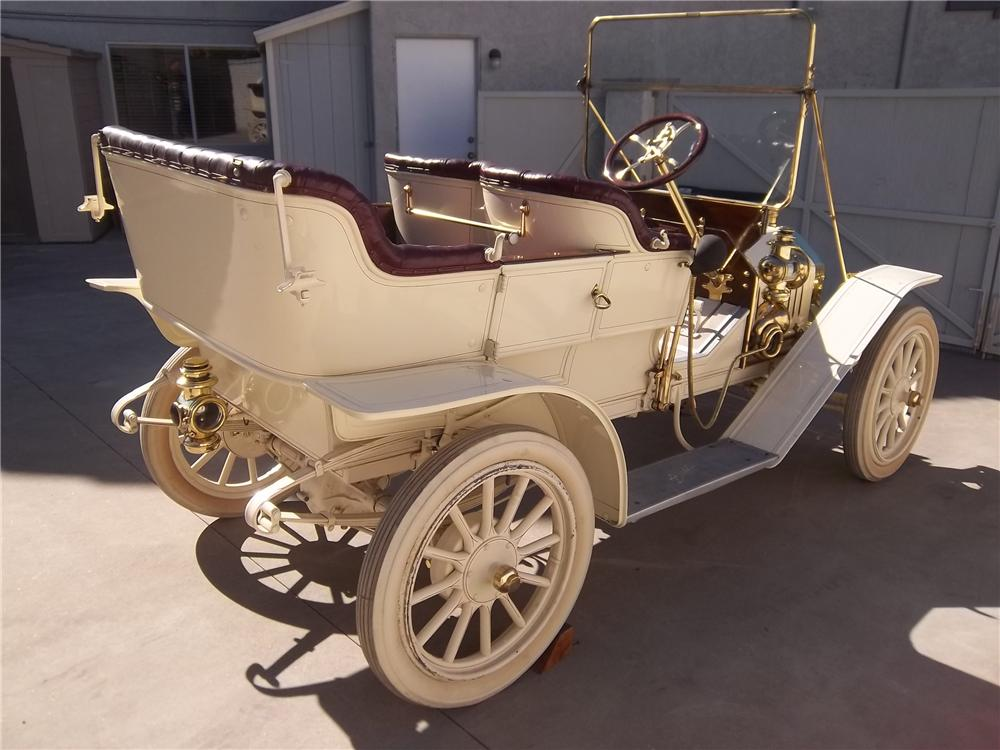1910 BUICK 10 TOURING - Rear 3/4 - 138336