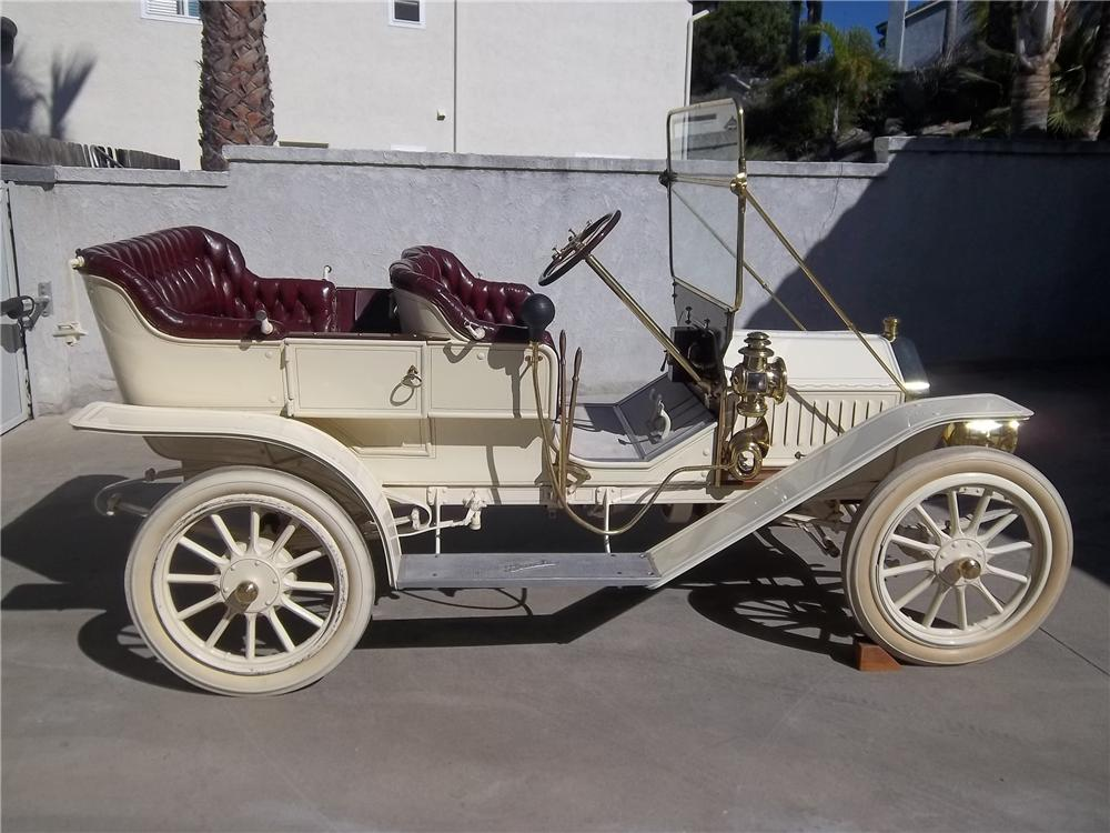 1910 BUICK 10 TOURING - Side Profile - 138336