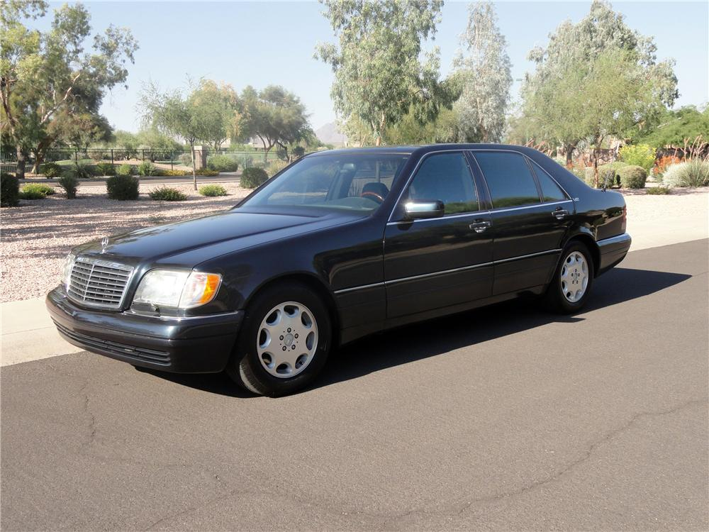 1996 mercedes benz s600 4 door sedan 138337