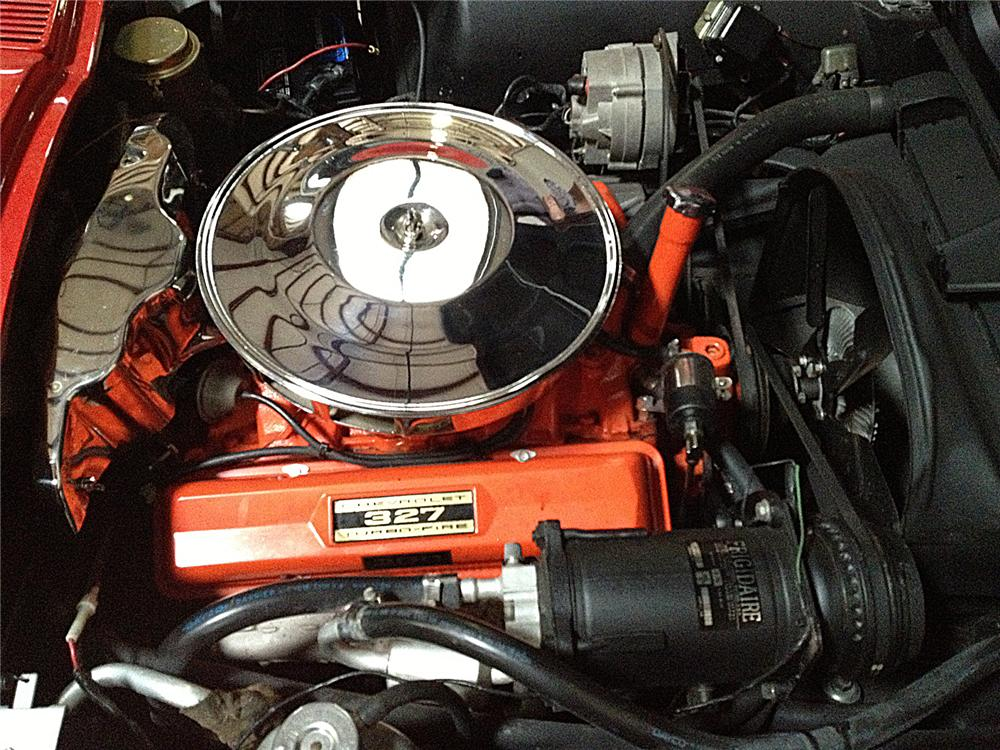 1965 CHEVROLET CORVETTE CONVERTIBLE - Engine - 138339