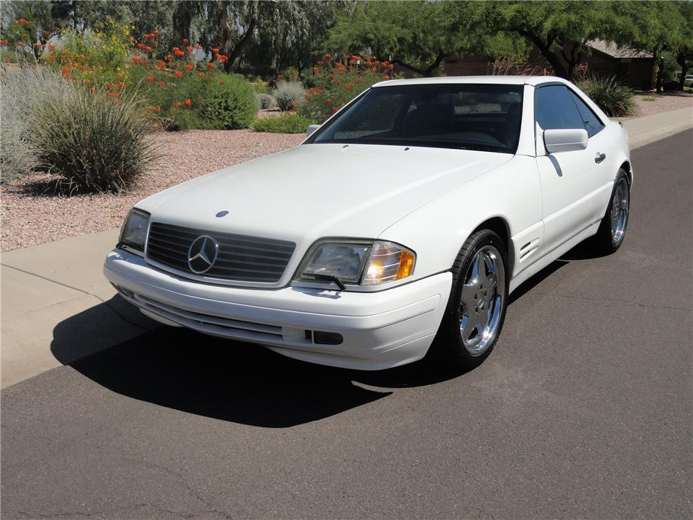 1998 MERCEDES-BENZ SL500 CONVERTIBLE - Front 3/4 - 138340