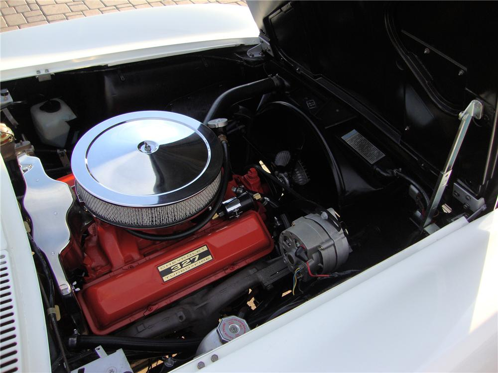 1963 CHEVROLET CORVETTE CONVERTIBLE - Engine - 138343