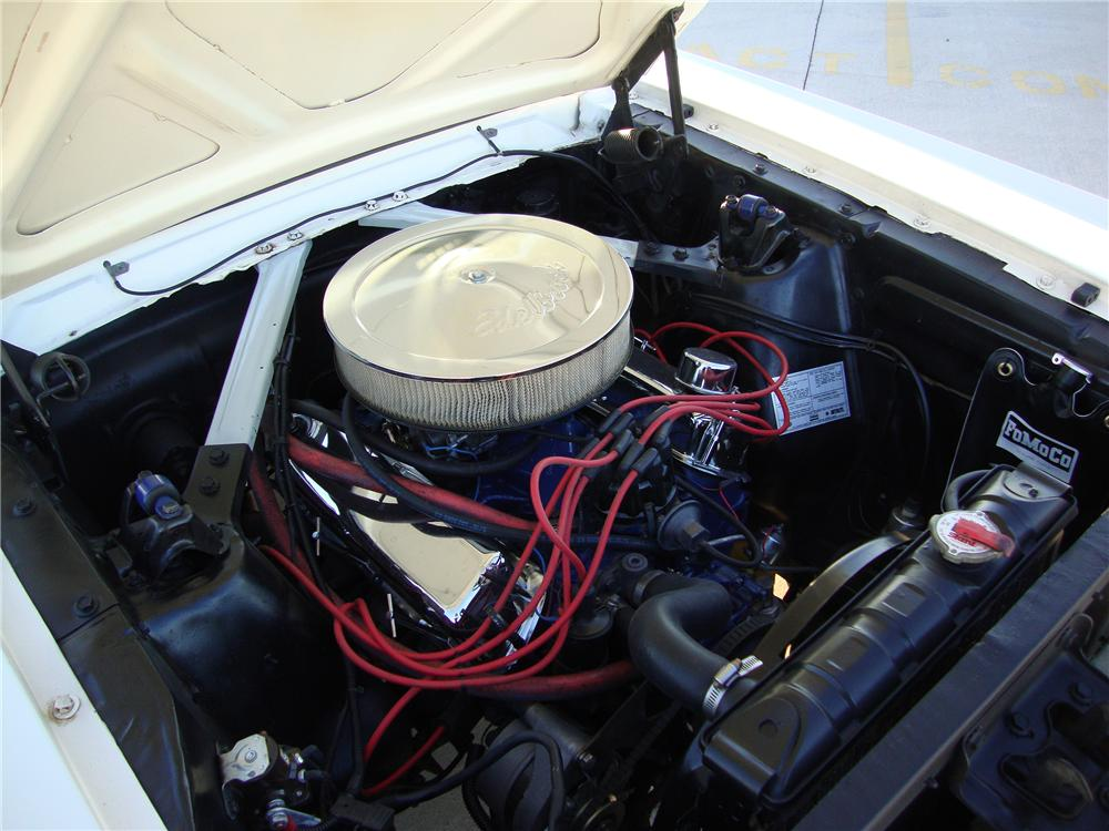 1966 FORD MUSTANG 2 DOOR COUPE - Engine - 138345