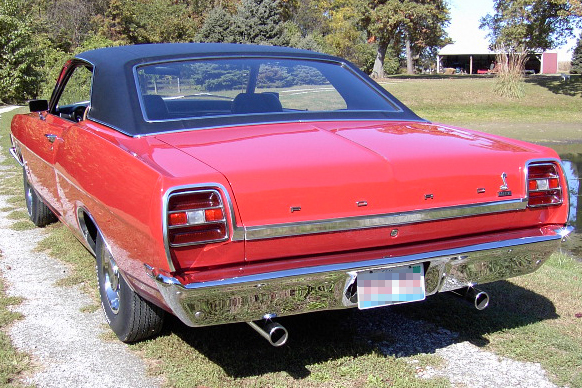1969 Ford Fairlane Cobra 2 Door Hardtop 138350