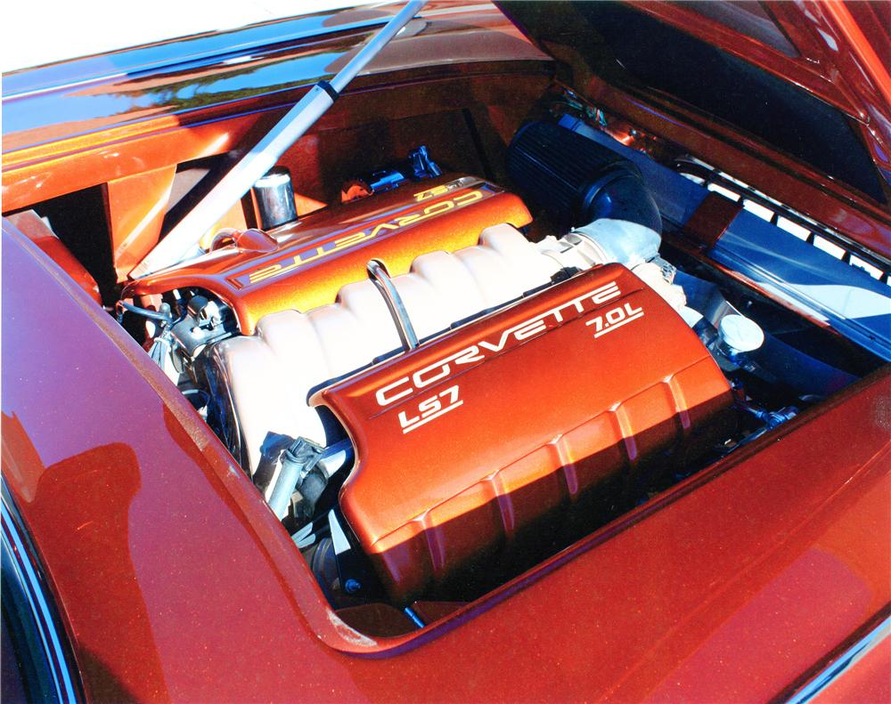 1959 CHEVROLET CORVETTE CUSTOM CONVERTIBLE - Engine - 138367