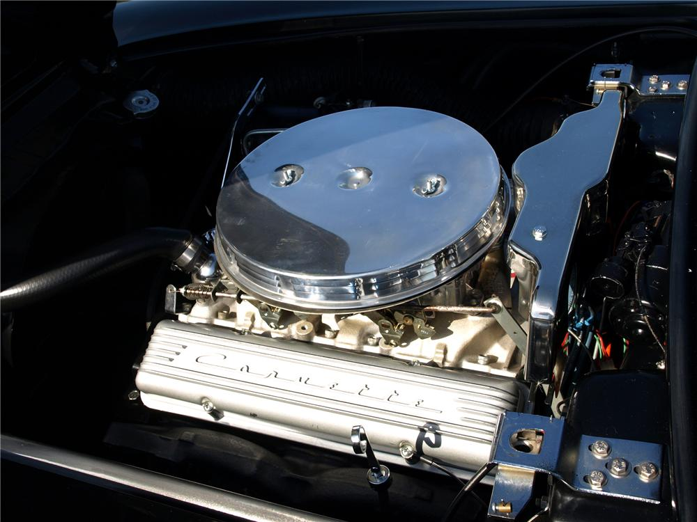 1958 CHEVROLET CORVETTE CONVERTIBLE - Engine - 138371