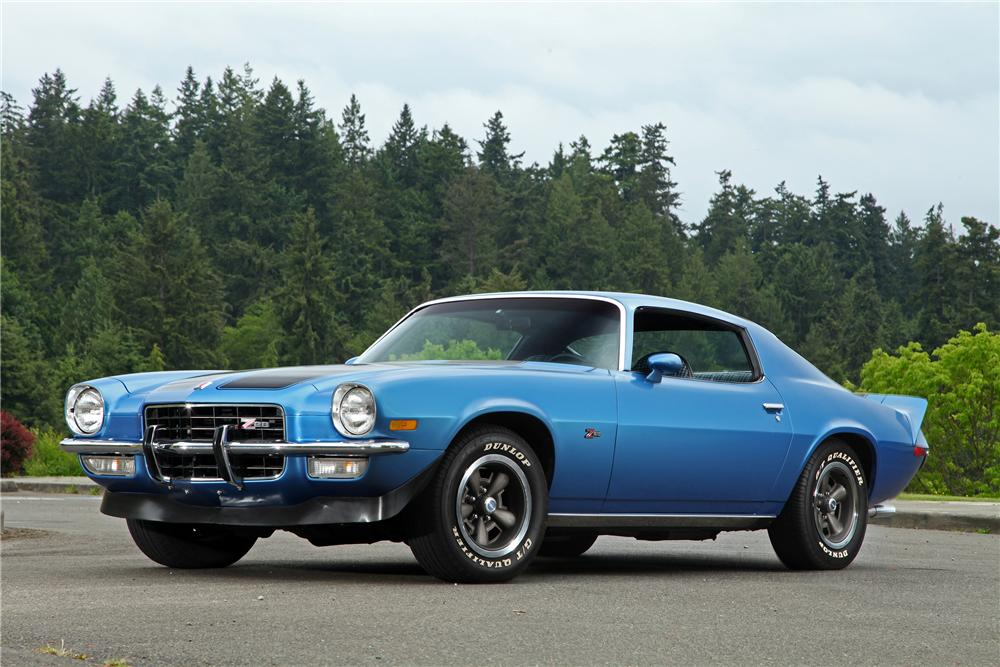 1973 CHEVROLET CAMARO Z/28 2 DOOR COUPE - Front 3/4 - 138376