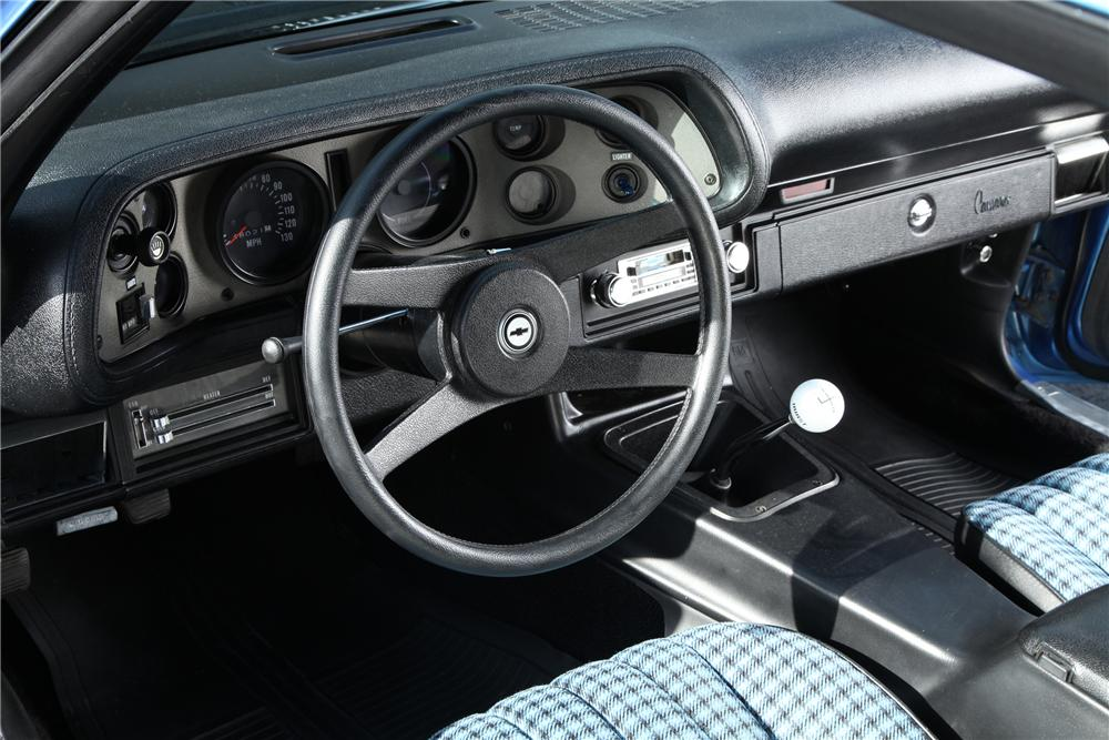 1973 CHEVROLET CAMARO Z/28 2 DOOR COUPE - Interior - 138376