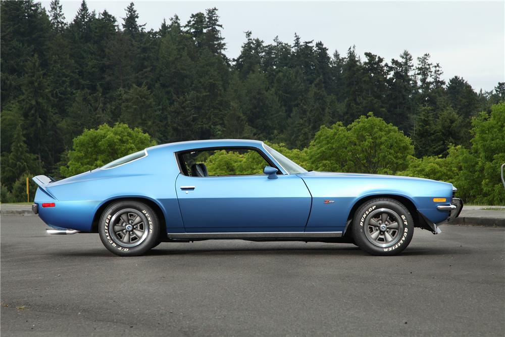 1973 CHEVROLET CAMARO Z/28 2 DOOR COUPE - Side Profile - 138376