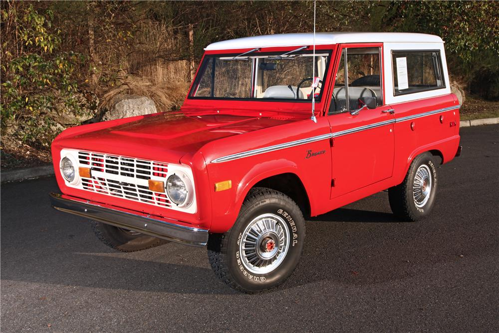 1974 FORD BRONCO SUV - Front 3/4 - 138378