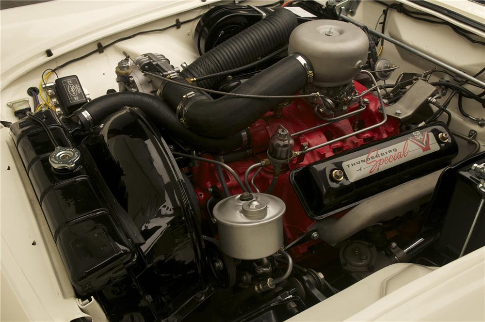 1957 FORD THUNDERBIRD F CONVERTIBLE - Engine - 138380