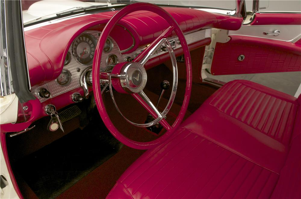 1957 FORD THUNDERBIRD F CONVERTIBLE - Interior - 138380