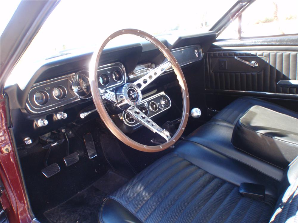 1966 FORD MUSTANG CUSTOM 2 DOOR COUPE - Interior - 138385