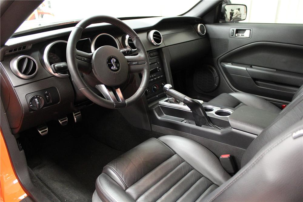 2007 SHELBY MUSTANG CUSTOM COUPE - Interior - 138387